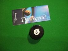 "BRAND NEW ARAMITH  PREMIER 2"" (51mm) MATCH BLACK NUMBER 8 POOL TABLE BALL"